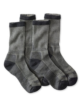 Cresta No Fly Zone Hiking Socks, Lightweight Two Pack by L.L.Bean