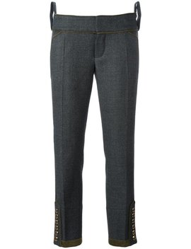 Livery Tenent Cropped Trousers by Dsquared2