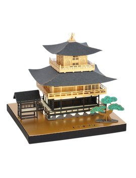 Paper Nano Kyoto Temple Building Kit by Paper Nano