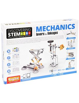 Engino Discovering Stem Mechanics Levers & Linkages Construction Kit by Engino