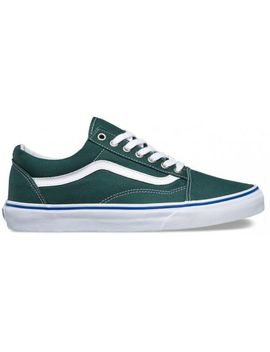 $183 Vans Mens Green Old Skool Low Top Canvas Skateboarding Sneakers Shoes 9.5 by Vans