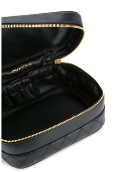 Quilted Vanity Tote by Chanel Vintage