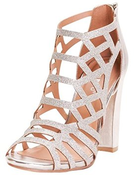 David's Bridal Glitter Cage Block Heels Style Limelights by David27s Bridal