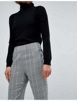 Parisian Check Tapered Trousers by Parisian