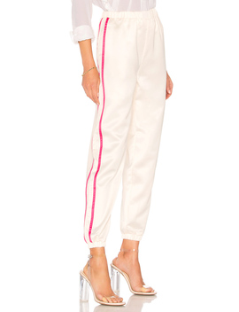 Nola Double Strip Track Pant by By The Way.