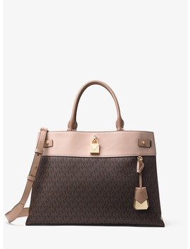 Gramercy Large Logo Satchel by Michael Michael Kors