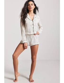 Polka Dot Pyjama Set by Forever 21