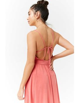 Strappy Cami Dress by Forever 21