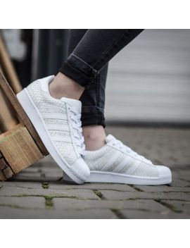 Adidas Originals  Superstar S75127 Women's Shoes White White 100 Percents Authentic by Adidas Superstar
