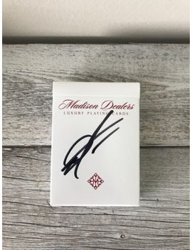 Signed Borderless Madison Dealers Playing Cards Signed By Daniel Madison by Ellusionist