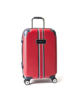 "Tommy Hilfiger Classic 21"" Expandable Hardside Spinner, Red by Tommy Hilfiger"