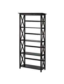 Montego 5 Shelf Bookcase Espresso by Casual Home