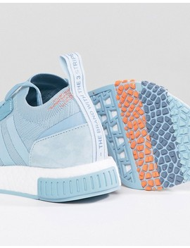 Adidas Originals Nmd Racer Sneakers In Blue by Adidas