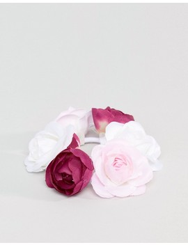 Asos Floral Bunholder Hair Tie by Asos Design