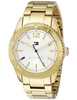 Tommy Hilfiger Women's 1781268 Casual Sport Analog Display Quartz Gold Watch by Tommy Hilfiger