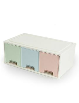 Combinable Diy Drawer Desk Organizer Desktop Storage Box Cosmetic Storage Organizer Makeup Organizer Stationery Jewelry Case 1 Pc by Doreen Box Home Supply Store