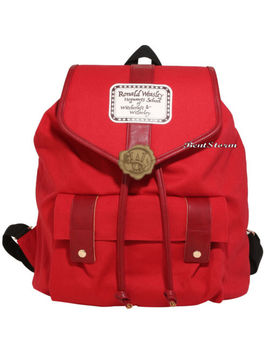 Harry Potter Ron Weasley Howler Letter Red Slouch Canvas Backpack Book Bag Nwt by Warner Bros./Bioworld