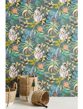 Canopy Creature Wallpaper by Anthropologie