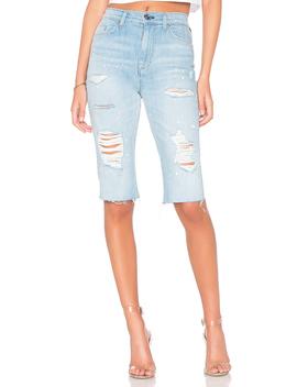 Zoeey High Rise Cut Off Boyfriend Short by Hudson Jeans