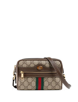 Ophidia Small Gg Supreme Crossbody Bag by Gucci