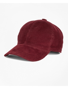 14 Wale Corduroy Baseball Hat by Brooks Brothers
