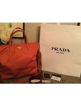 Prada Mango Shopper Tote by Prada