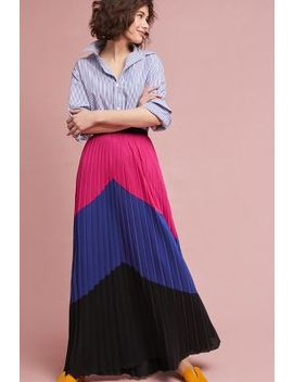 Tracy Reese Pleated Maxi Skirt by Tracy Reese