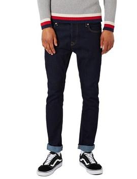 Stretch Skinny Fit Raw Denim Jeans by Topman