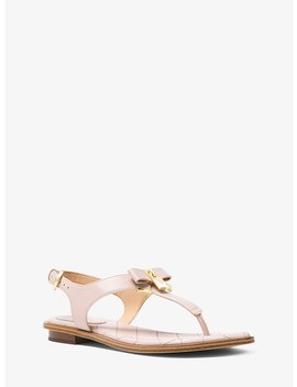 Alice Leather Sandal by Michael Michael Kors