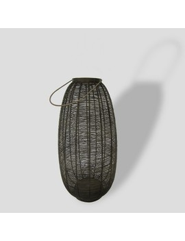 Brown Metal Weave Outdoor Lantern   Project 62™ by Shop This Collection