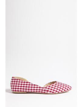 Legend Gingham Flats by Forever 21