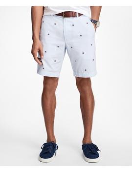 Pinwheel Seersucker Shorts by Brooks Brothers