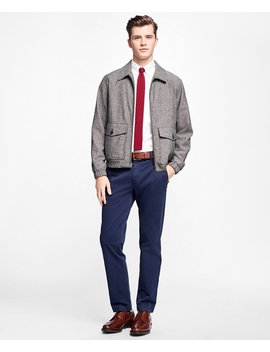 Donegal Tweed Short Jacket by Brooks Brothers