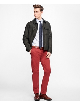Fleece Lined Wool Jacket by Brooks Brothers