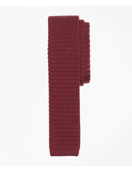 Wool Knit Tie by Brooks Brothers