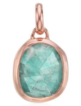 Siren Semiprecious Stone Pendant by Monica Vinader