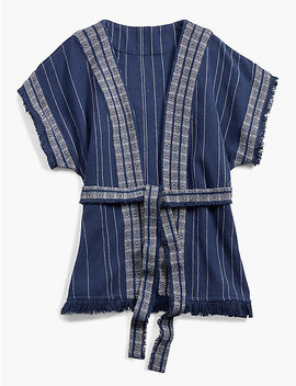 Textured Kimono by Lucky Brand