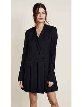 School Girl Blazer Dress by Helmut Lang