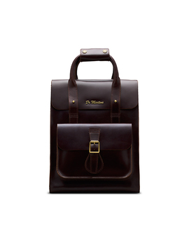 Small Brando Leather Backpack by Dr. Martens