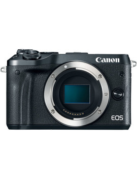 Eos M6 Mirrorless Digital Camera (Body Only, Black) by Canon