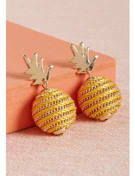 If The Fruit Fits Pineapple Earrings If The Fruit Fits Pineapple Earrings by Modcloth