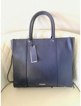 "Nwt Rebecca Minkoff ""Always On Side"" Zip Regan Large Leather Tote by Rebecca Minkoff"