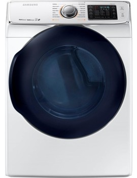7.5 Cu. Ft. 14 Cycle Gas Dryer With Steam   White by Samsung