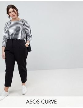 Asos Curve Mix & Match Highwaist Cigarette Pants by Asos Curve