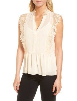 Lace Trim Top by Chelsea28