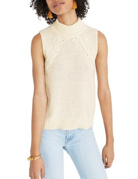 Mixed Stitch Sweater Tank by Madewell