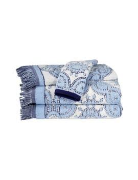 'petra' Cotton Hand Towel by John Robshaw
