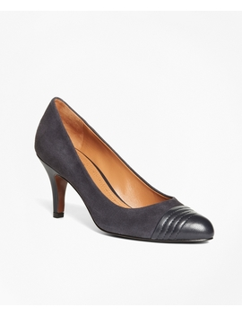 Captoe Pumps by Brooks Brothers