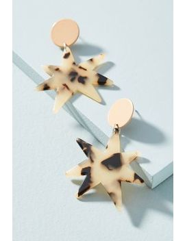 Tortoise Star Earrings by Bianca Mavrick