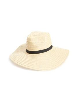 Wide Brim Staw Hat by Bp.